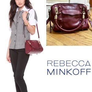 Rebecca Minkoff Cupid Mini in Port Wine Red